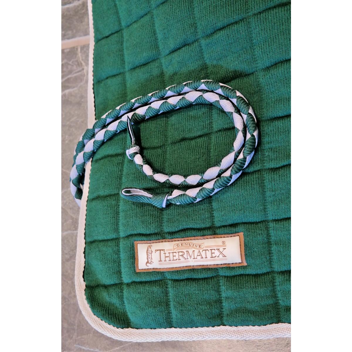 Thermatex Quater Rug Green & Grey