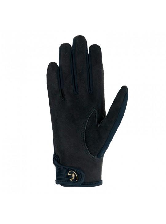 Roeckl Tryon Børne handske, Sort/Guld