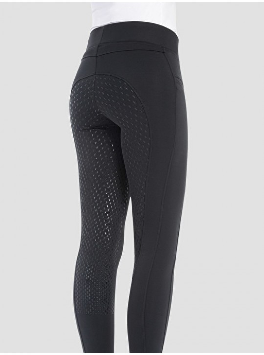 """Equiline """"Gueng"""" Tights, Sort"""
