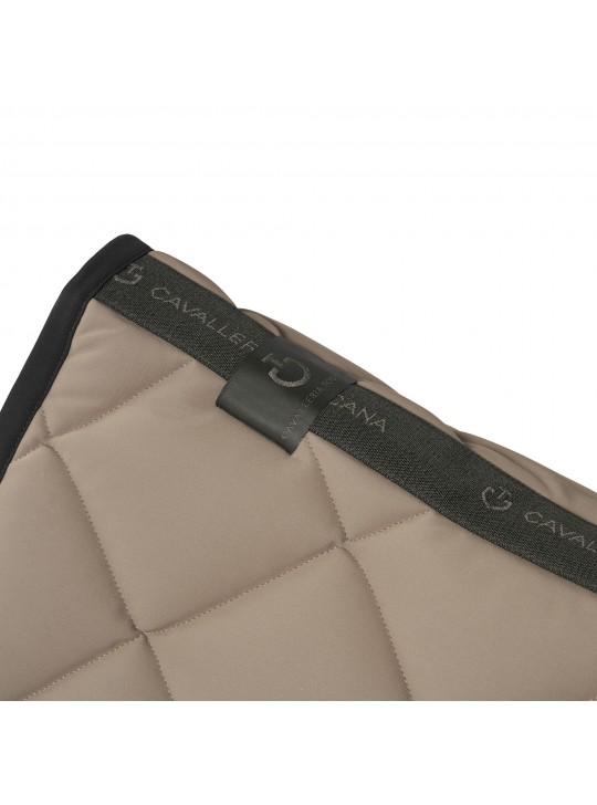 CT Diamond Quilte Jersey underlag, Beige/Sort