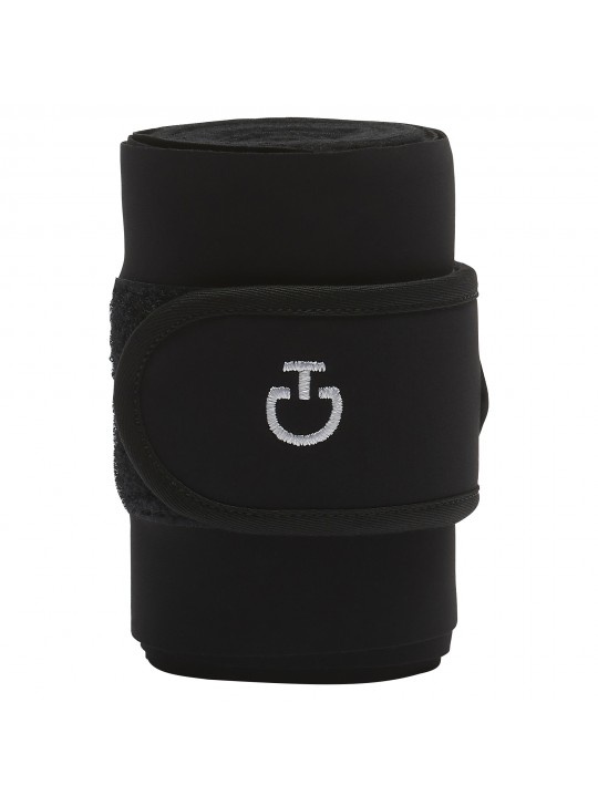 CT Jersey And Fleece Bandager, Sort/hvid