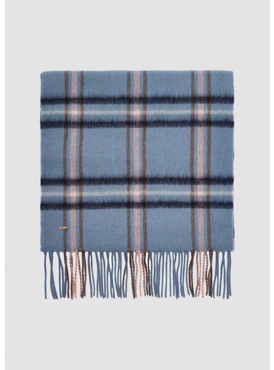Dubarry Cullen Uld Halstørklæde, Slate Blue