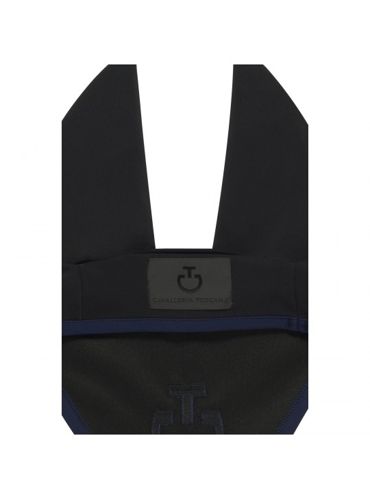 CT Light Weight Jersey Stripe Hut, Sort/RoyalBlue Nyhed 2021 - Tilbud