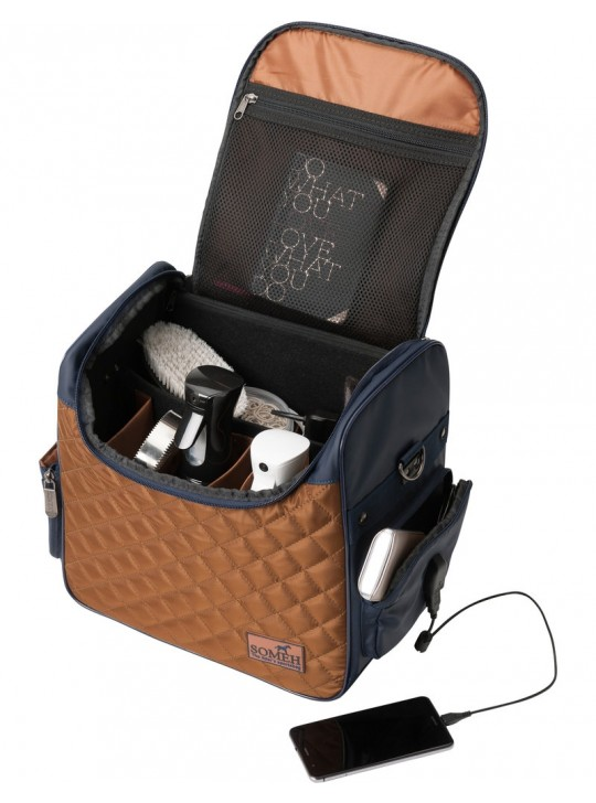 Soméh Connect Grooming Bag, Grace Gold