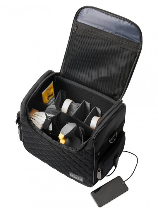 Soméh Connect Grooming Bag, Sort