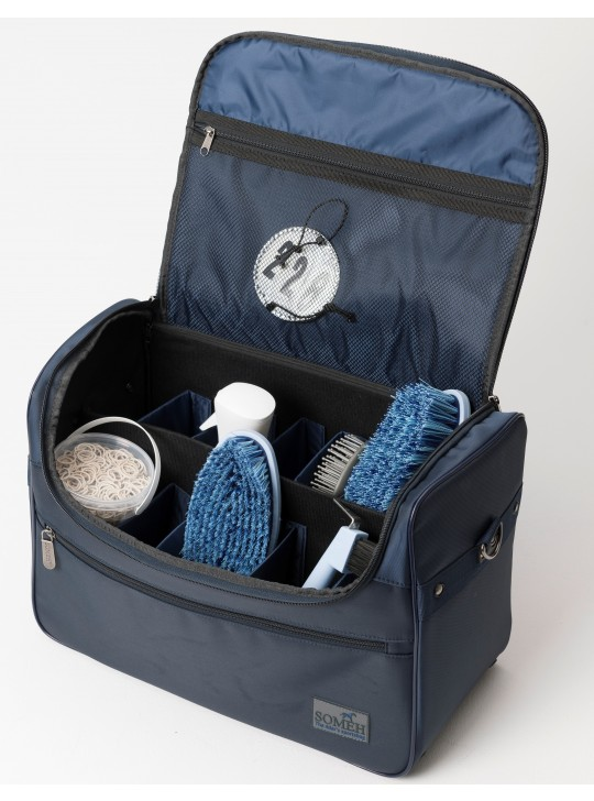 Soméh Classic Grooming Bag, Navy