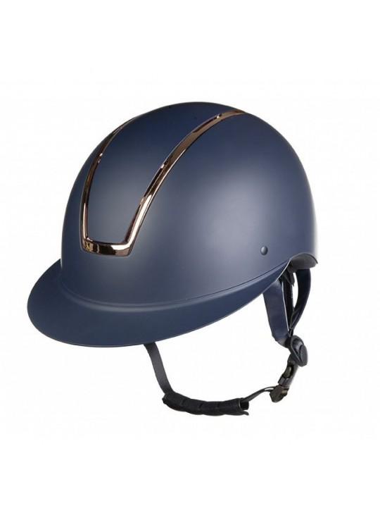 HKM Lady Shield, Navy/Rosegold Ridehjelm