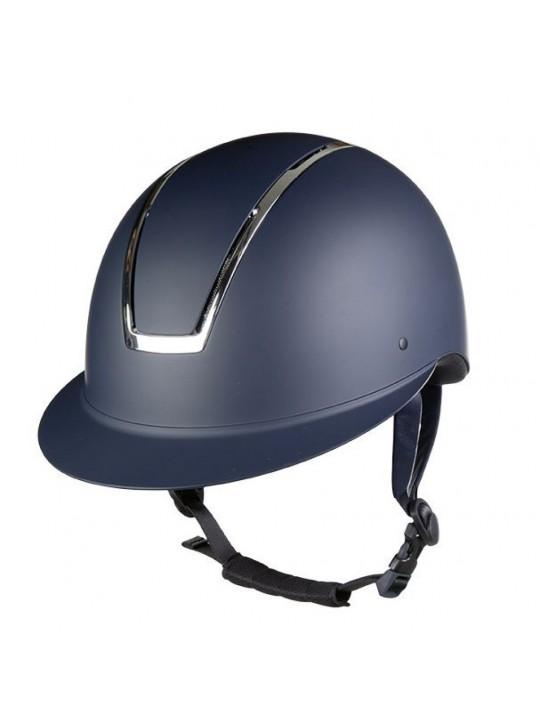 HKM Lady Shield, Navy/Sølv Ridehjelm