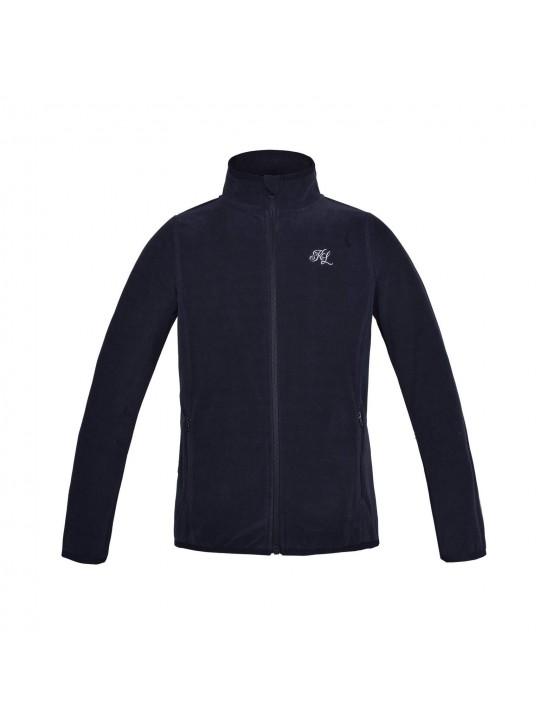 KL Idril Navy fleece jakke Junior