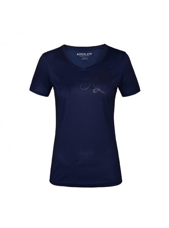 KL janisi v-udskæring t-shirt dame, navy