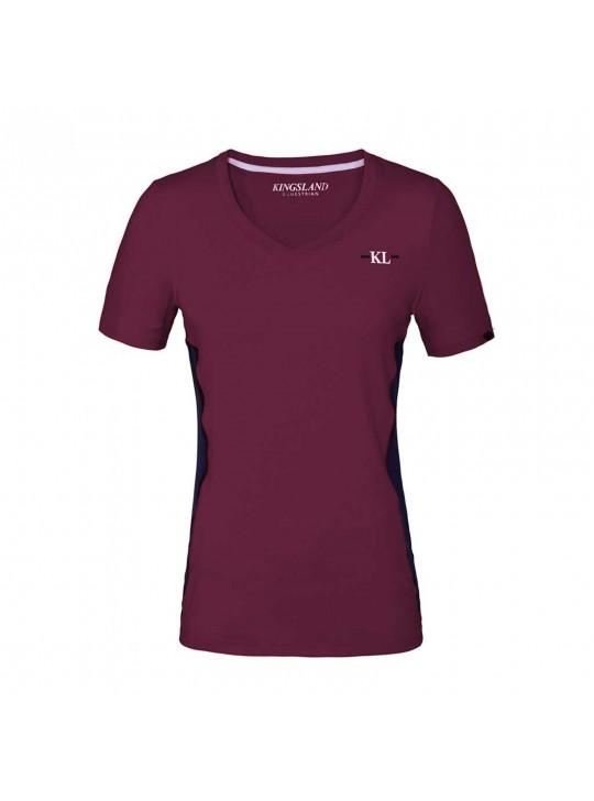 KL Jaslyn t-shirt, Bordeaux