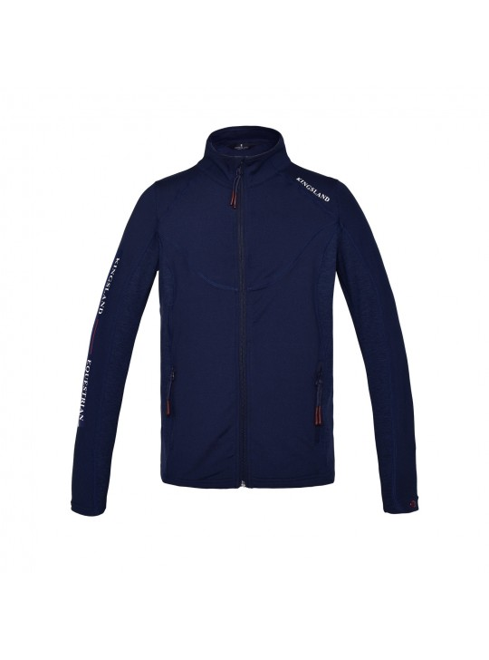 KL Jeri børne fleece jakke, Navy
