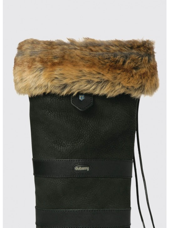 Dubarry Raftery Faux Fur støvle liner, ChinChillla