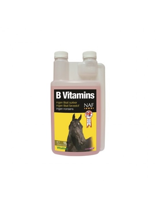 NAF B-Vitamin 1L. HEST Fældning, forår