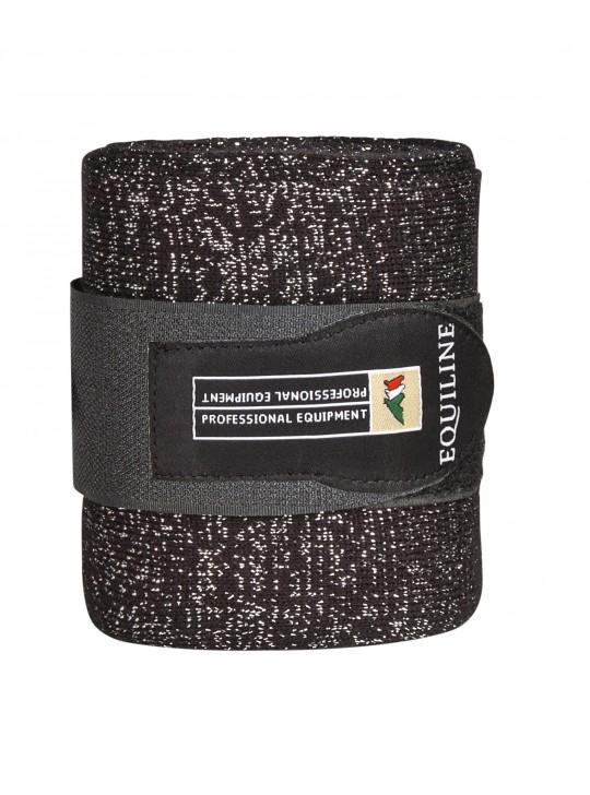 Equiline Glitter Bandager, Sort