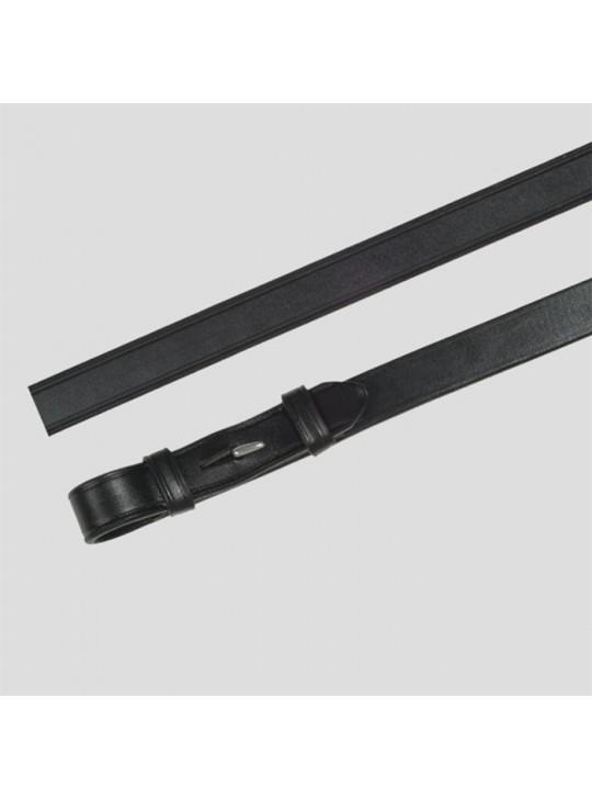 OS Lædertøjle 16mm U/Stopper