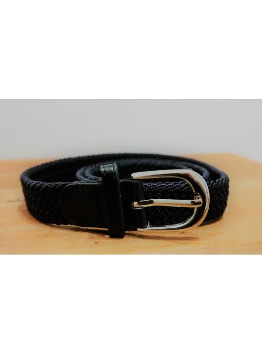 Equipage Cerise børne elastik bælte, sort