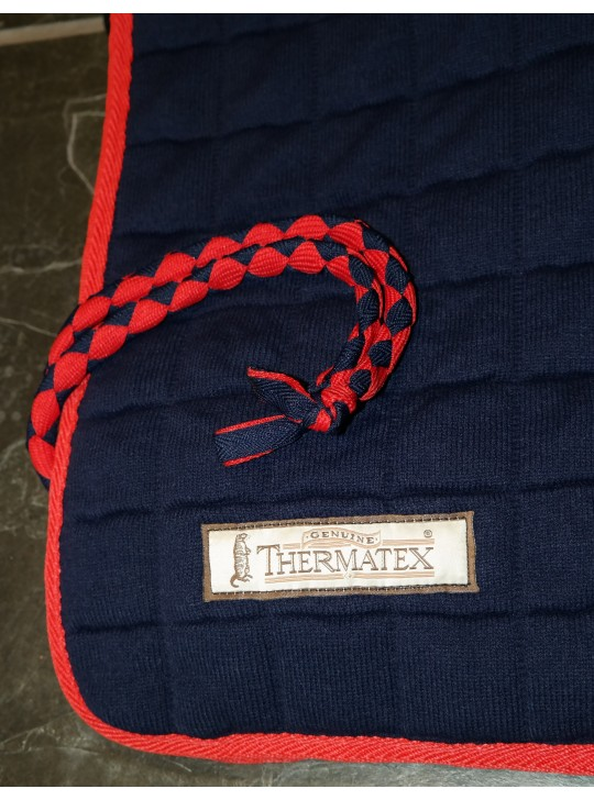 Thermatex Quarter Rug Navy & Red