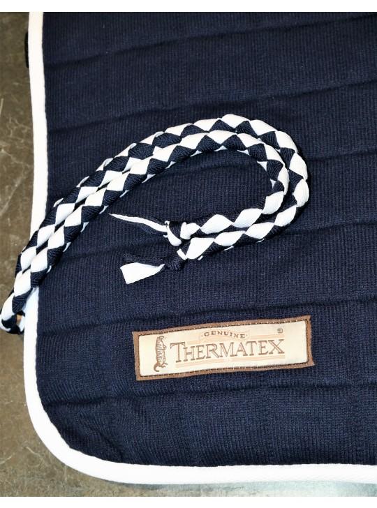 Thermatex Quarter Rug Navy & White