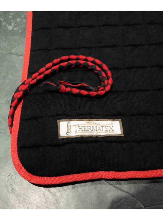 Thermatex Quarter Rug Black & Red