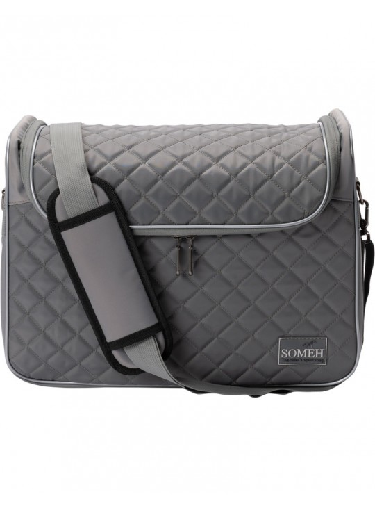 Soméh Classic Grooming Bag, Silver