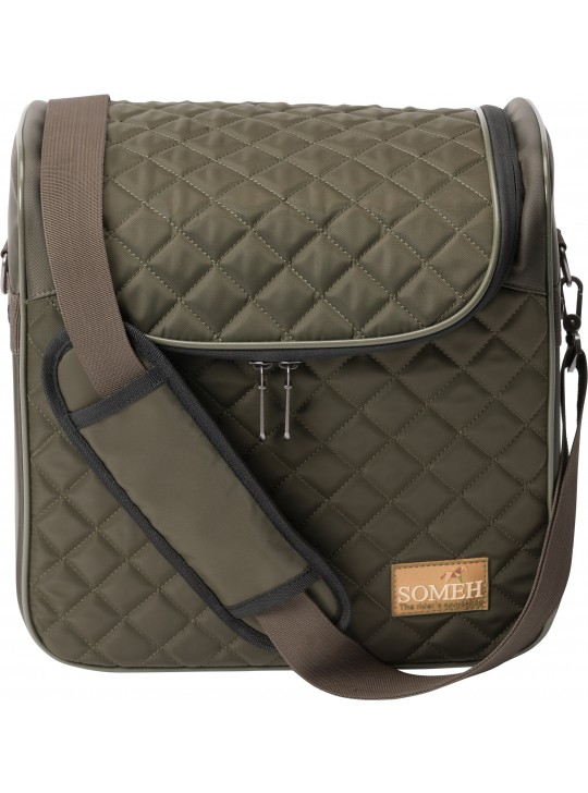 Soméh Compact Grooming Bag, Oliven