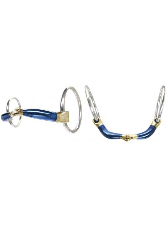 Bombers Snaffle Ultra Comfy Loose Ring