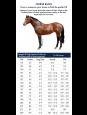 """Premier Equine """"ShowerTex"""" insektdækken m/vandtæt ryg måleskema"""
